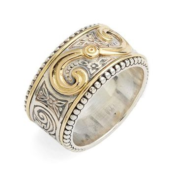Konstantino 'Hebe' Swirl Etched Band Ring | Nordstrom