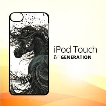 Horse Majestic Mustang Horse L1250 iPod Touch 6 Case