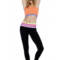 A NEW DAY YOGA PANTS - ELECTRIC TRIBAL