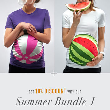 Summer Bundle1 / Beachball + Watermelon