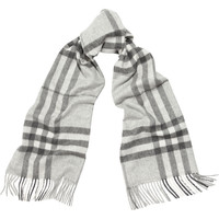Burberry Shoes & Accessories - Checked cashmere scarf