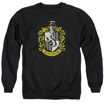 Harry Potter - Hufflepuff Crest Adult Crewneck Sweatshirt