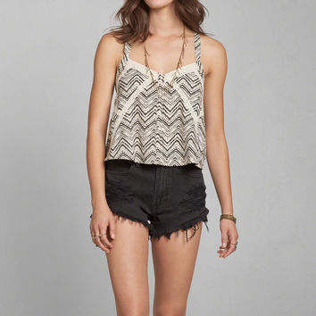 Patchwork Pattern Top
