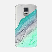 FLAWLESS SEAFOAM FAUX GLITTER by Monika Strigel Galaxy S5 case by Monika Strigel | Casetify