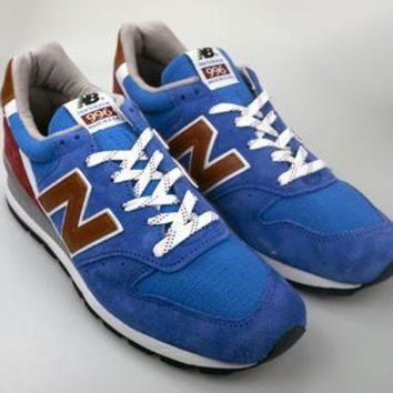 CREYONV new balance made in usa reg m996bb blue red grey