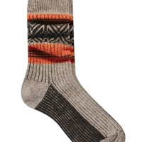 Urban Knit Jo Fairisle Boot Socks Made In England