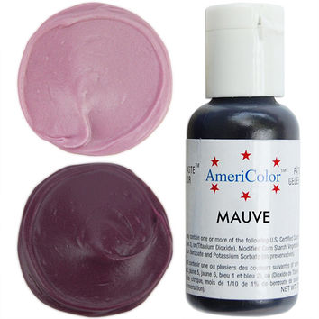 Mauve Gel Paste Food Coloring