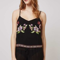 Floral Embroidered Pyjama Set - Nightwear - Clothing