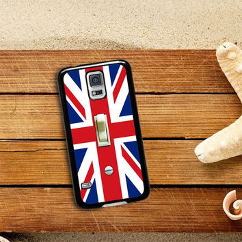 British Flag switch plate Samsung Galaxy S5 Case Planetscase.com