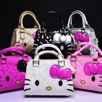 New Women Girl Hello kitty Small Shoulder bag Purse yey-8813-1a