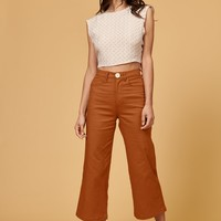 Flora Pant in Rust by Whimsey + Row