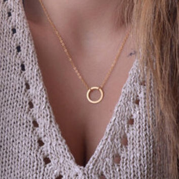 Karma Gold Chain Necklace