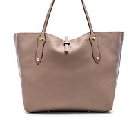 Large Isabella Tote in Zinc