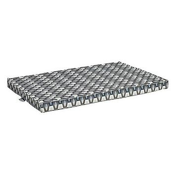 Micro Jacquard Cool Gel Memory Foam Mattress Crate Pad — Titan