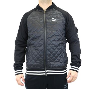 puma quilted lifestyle jacket mens  number 1