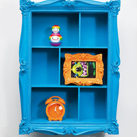 Baroque Wall Shelf in Blue - Urban Outfitters