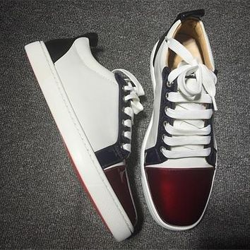 Cl Christian Louboutin Low Style #2046 Sneakers Fashion Shoes - Best Deal Online