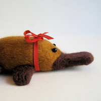 Platypus Christmas Ornament  Ornament/Gift  by PhDstressrelief