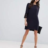 French Connection Ensor Crepe Shift Dress at asos.com