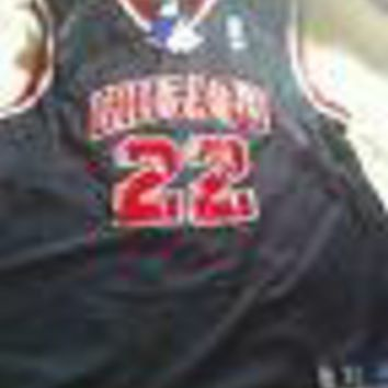 JAYSON WILLIAMS #22 CHICAGO BULLS RETRO REEBOK BLACK JERSEY