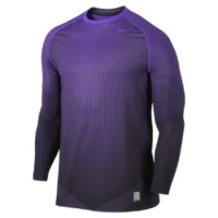 Nike Pro Combat Hyperwarm Dri-FIT Max Fitted Chameleon Long-Sleeve Crew Men's Shirt