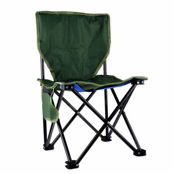 Portable Stable Foldable Canvas Chair Seat Lightweight Seat for Hiking Fishing Picnic Barbecue Beach Chair Other Fishing Tools
