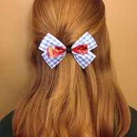 Wizard of Oz Dorothy Inspired Bow