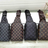 *Louis Vuitton* Fashion Women Shoulder Bag Crossbody