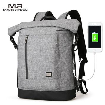 Mark Ryden 2018 New USB Recharging Backpack Fit for 15.6 inches Laptop Backpack High Capacity for Travel