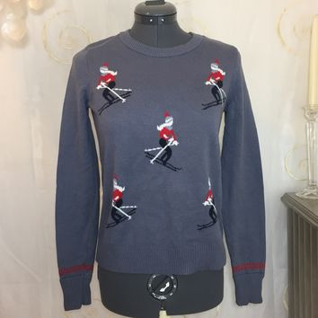 Abercrombie & Fitch Sweater with Skiers