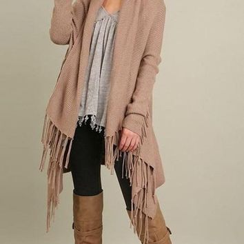 Bolton Fringe Cardigan FINAL SALE!