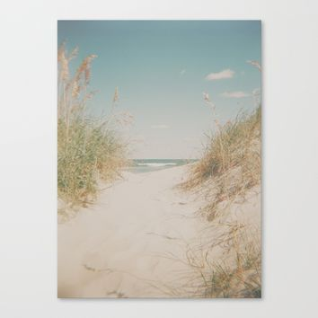 Ocean Isle Canvas Print by Horizon Studio