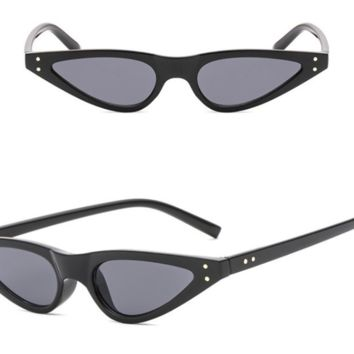 Vivian Cat-eye Vintage Glasses - Black