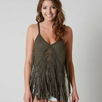 GIMMICKS WEAVED TANK TOP