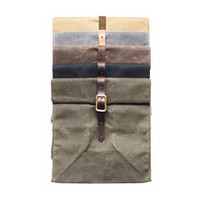 Waterproof Waxed Canvas Lunch Bags
