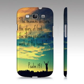 God's Handiwork Phone Cover for Iphone 4/4S & Galaxy S3