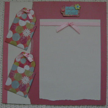 Scrapbook Layout 12x12 Love Mother's Day