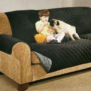 3 Sizes- Reversible Black and Gray Furniture Protectors