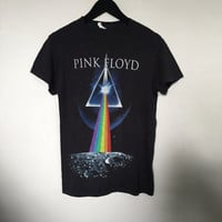 Pink Floyd shirt, vintage t shirt band t-shirts 90s vintage band tee rock tees rock band shirts t-shirt, dark side moon black t-shirt small