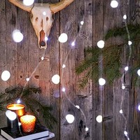 Galaxy Battery Powered String Lights- Silver One