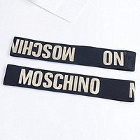 Moschino Sports Casual Letter Simple Hair Band Of Yoga And Fitness Headband Headband With Headbands