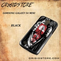 Superman Blood Open Cloth Snap on 2D Black and White Or 3D Suitable With Image For Samsung Galaxy S4 Mini Case