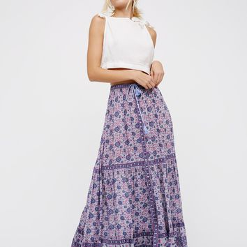 Free People Kombi Buttondown Maxi Skirt