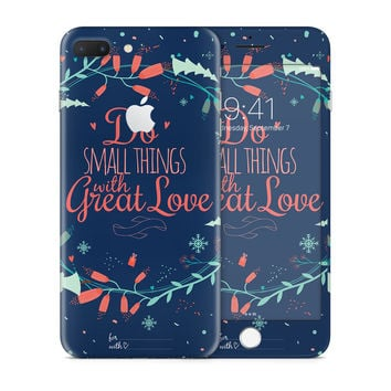 Do the Small Thing with Great Love Skin for the Apple iPhone