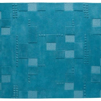 "5'6""x7'10"" Miami Rug, Turquoise, Area Rugs"