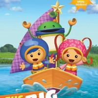 The Big Boat Race! (Team Umizoomi) (Hologramatic Sticker Book)