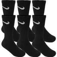 Nike Kid's Performance Cotton Cushioned Crew Socks