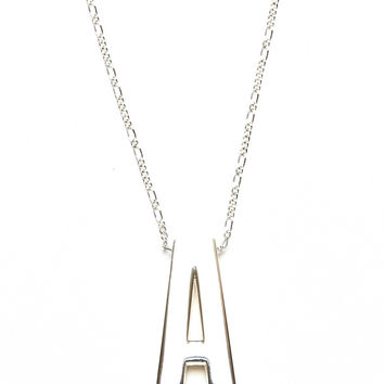 Alpha Necklace in Silver