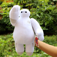 1pcs Big Hero 6 Baymax Robot Hands Moveable Stuffed Plush Animals Toys 12inch 30cm Christmas Gfit