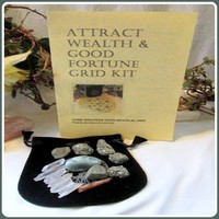 Attract Wealth & Good Fortune Grid Kit